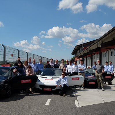 SEEBURGER Client Day Italy 2017: supercar fun at Tazio Nuvolari Circuit!