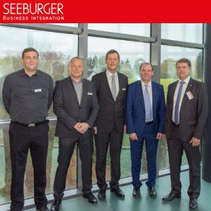 Deutsche Landkreise zu Gast bei der SEEBURGER AG